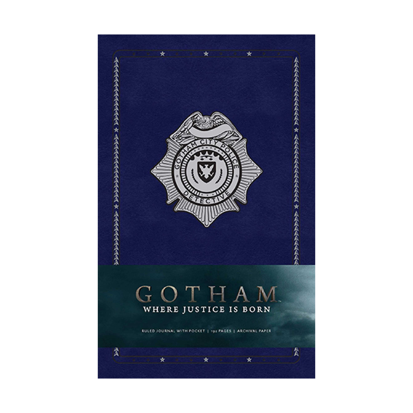 Gotham Hardcover Ruled Journal (Hardcover)