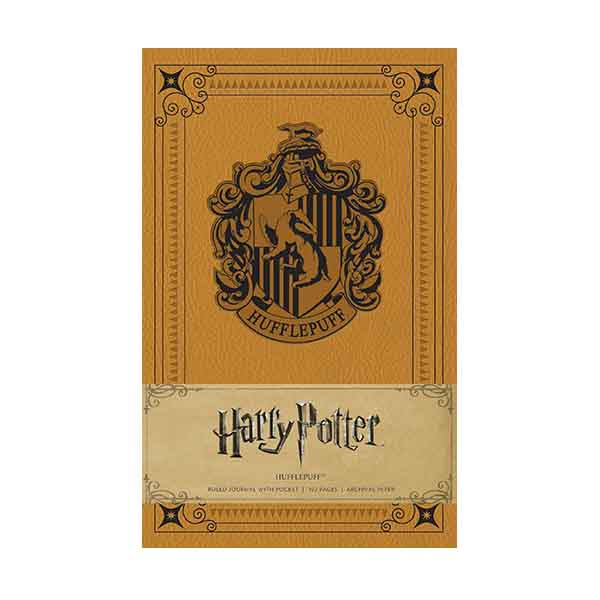 Harry Potter : Hufflepuff Hardcover Ruled Journal (Hardcover)