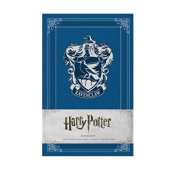 Harry Potter : Ravenclaw Hardcover Ruled Journal (Hardcover)