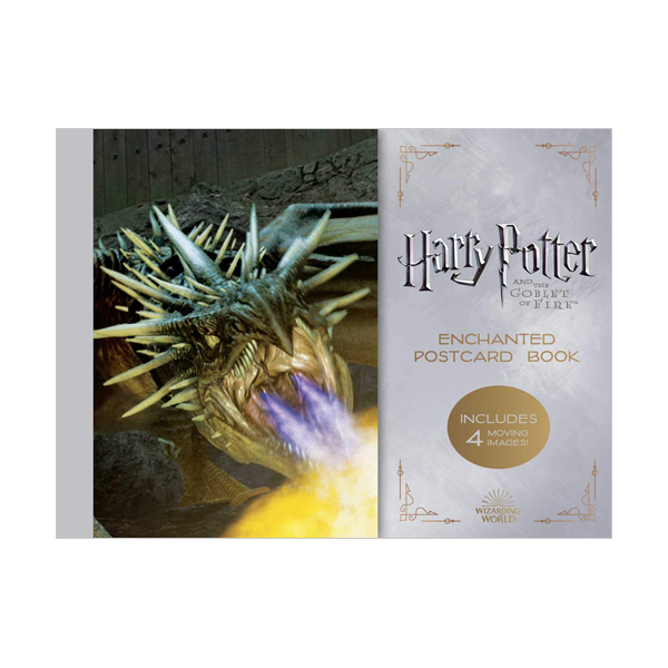 해리포터 #04 : Harry Potter and the Goblet of Fire Enchanted Postcard Book (Cards)