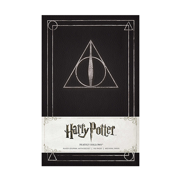 해리포터 #07 : Harry Potter Deathly Hallows Ruled Journal (Hardcover)