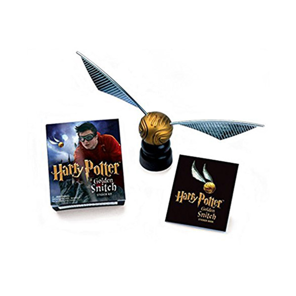 ★키즈코믹콘★Harry Potter Golden Snitch Sticker Kit (Mini Paperback+Miniature)
