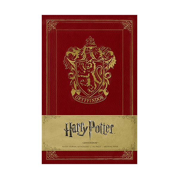 Harry Potter Gryffindor Ruled Journal (Hardcover)