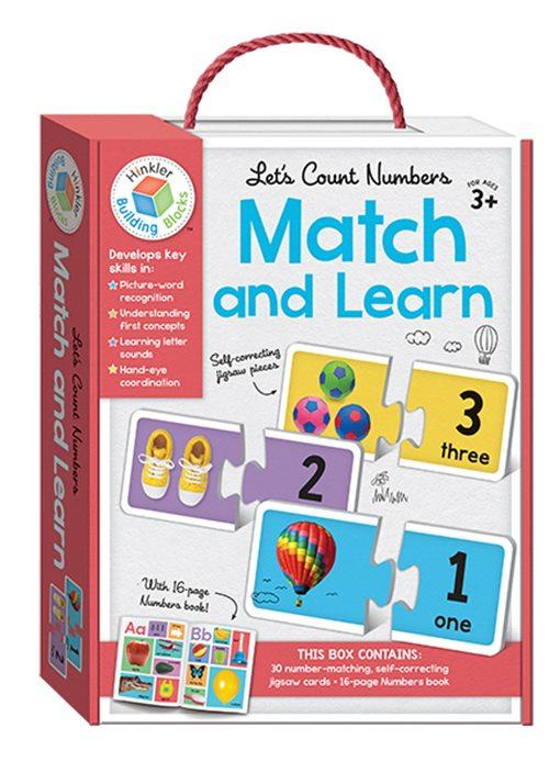 Let's Count Numbers : Match And Learn (Paperback, Cards)