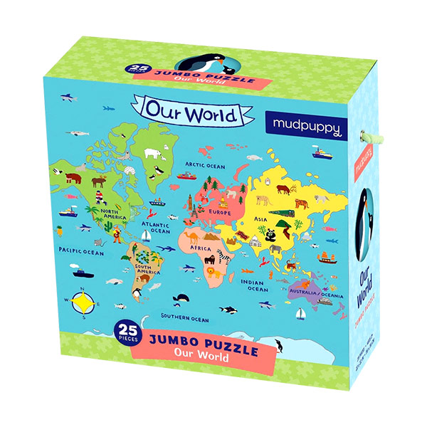 Our World Jumbo Puzzle (Puzzle)