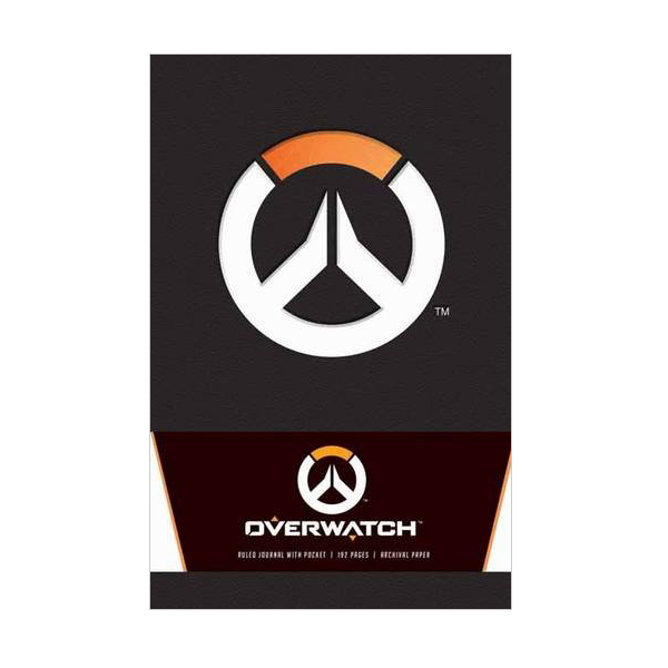 Overwatch Hardcover Ruled Journal (Hardcover)