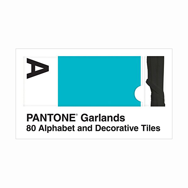 Pantone Garlands: 80 Alphabet and Decorative Tiles (Hardcover)