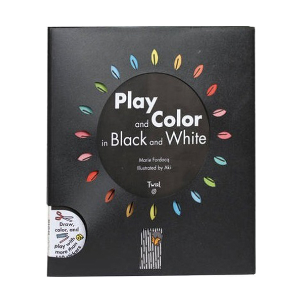 Play and Color in Black and White (Paperback)