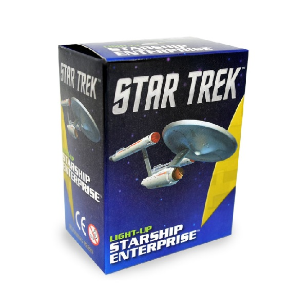 ★키즈코믹콘★Star Trek : Light-Up Starship Enterprise Mini Kit (Toy)