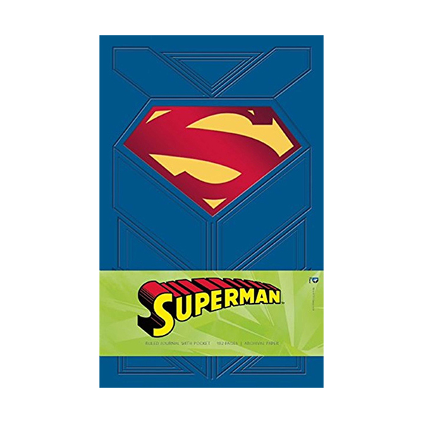 Superman Hardcover Ruled Journal (Hardcover)