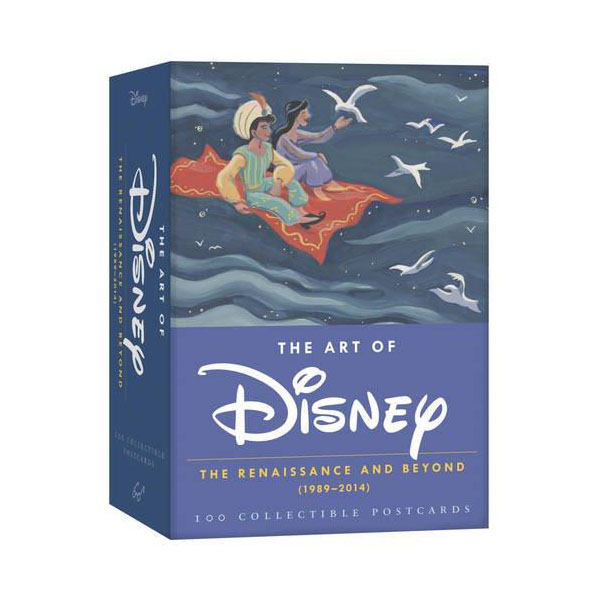 The Art of Disney : The Renaissance and Beyond 1989 - 2014 (Postcards)