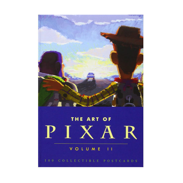 The Art of Pixar 2 : 100 Collectible Postcards (Boxed)