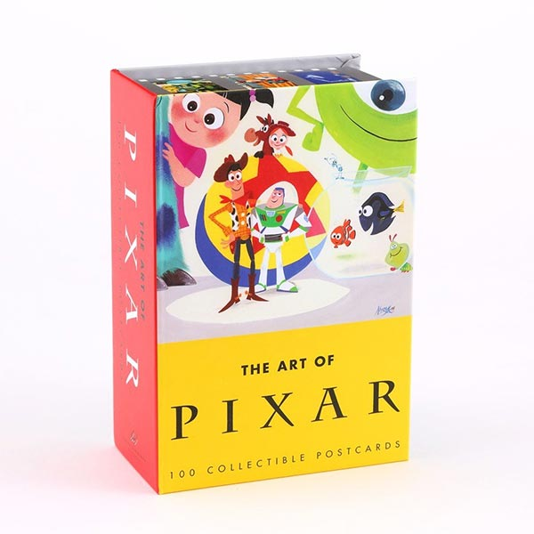 The Art of Pixar : 100 Collectible Postcards