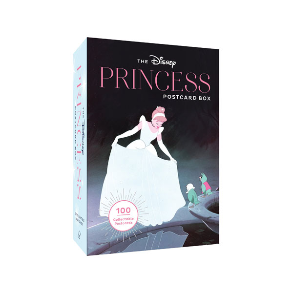The Disney Princess Postcard Box : 100 Collectible Postcards (Postcards)