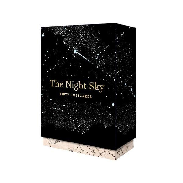 The Night Sky: 50 Postcards (Card Book)