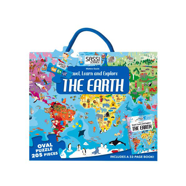 Travel, Learn and Explore ? The Earth (Puzzle)