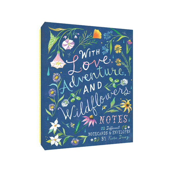 With Love, Adventure, and Wildflowers Notes (Cards)