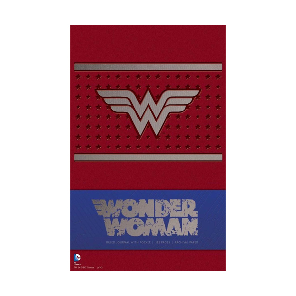 Wonder Woman Hardcover Ruled Journal (Hardcover)