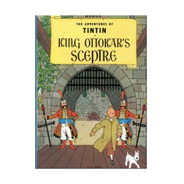 Adventures of Tintin Series: King Ottokar's Sceptre (Paperback)