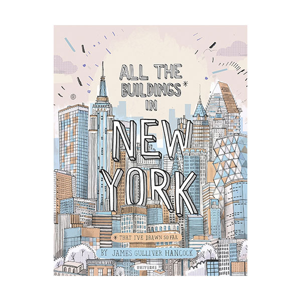All the Buildings in New York : That I've Drawn So Far (Hardcover)