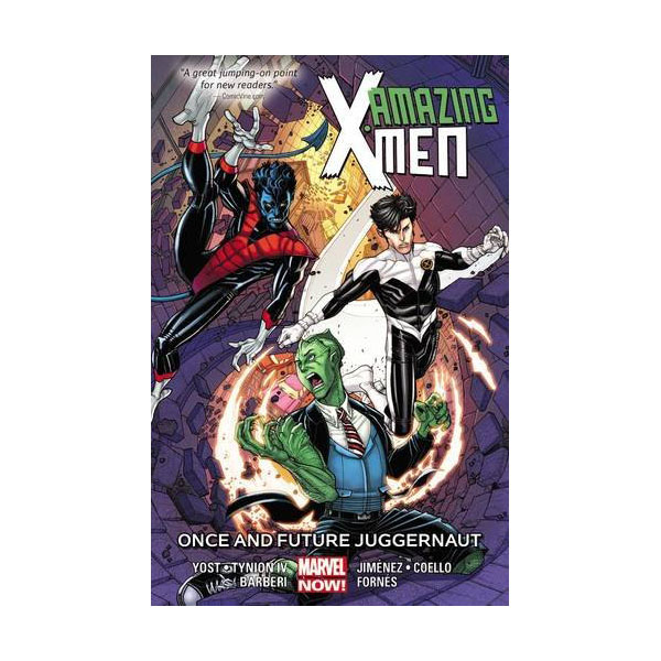 Amazing X-men Vol. 3: Once And Future Juggernaut (Paperback)
