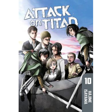 Attack on Titan #10 (Paperback)