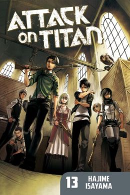 Attack on Titan #13 (Paperback)
