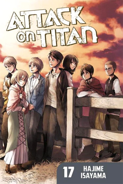 Attack on Titan #17 (Paperback)