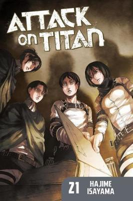 Attack on Titan #21 (Paperback)