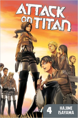 Attack on Titan #4 (Paperback)