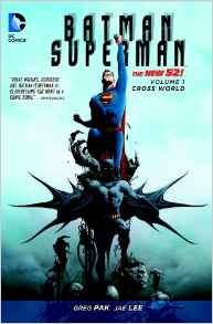 Batman Superman Vol.1 : Cross World (Paperback)