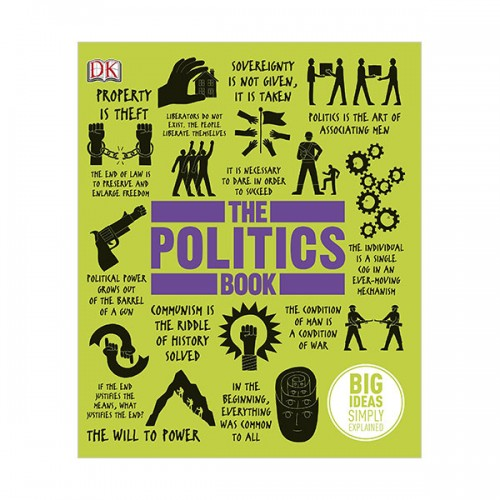 Big Ideas Simply Explained : The Politics Book (Hardcover)