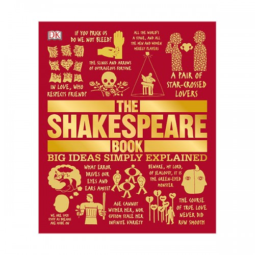 Big Ideas Simply Explained : The Shakespeare Book (Hardcover)