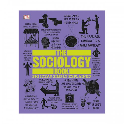 Big Ideas Simply Explained : The Sociology Book (Hardcover)
