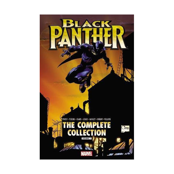 Black Panther by Christopher Priest: The Complete Collection Vol. 1 (Paperback)