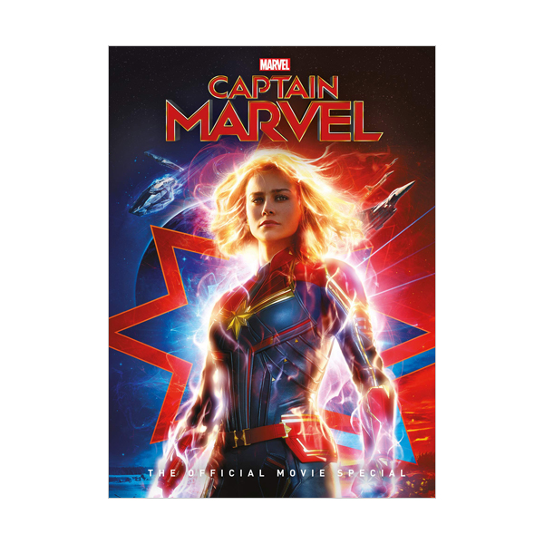 Captain Marvel The Official Movie Special (Hardcover, MTI)