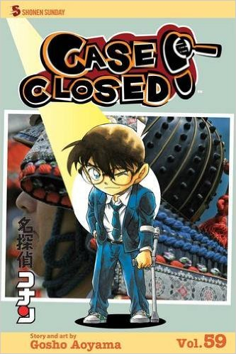 Case Closed #59 : Hair Today, Gone Tomorrow (Paperback)