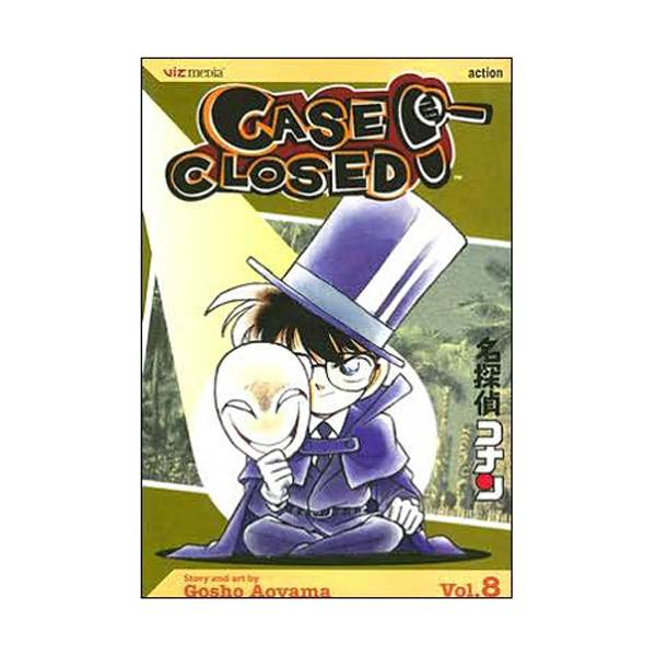 Case Closed #8 (Paperback)