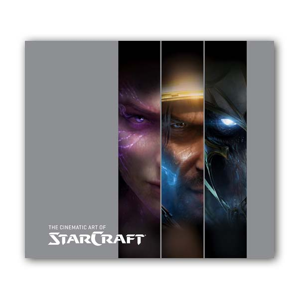 Cinematic Art of StarCraft (Hardcover)
