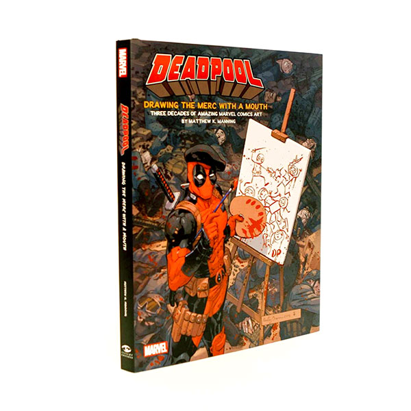 Deadpool : Drawing the Merc with a Mouth (Hardcover)