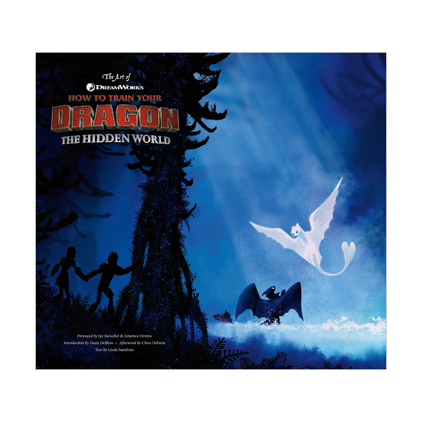 The Art of How to Train Your Dragon #3 : The Hidden World (Hardcover)