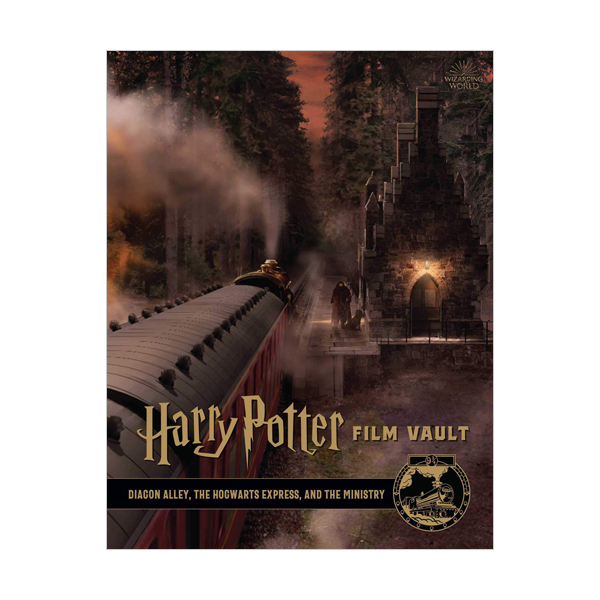 Harry Potter Film Vault #02 : Diagon Alley, the Hogwarts Express, and the Ministry (Hardcover)
