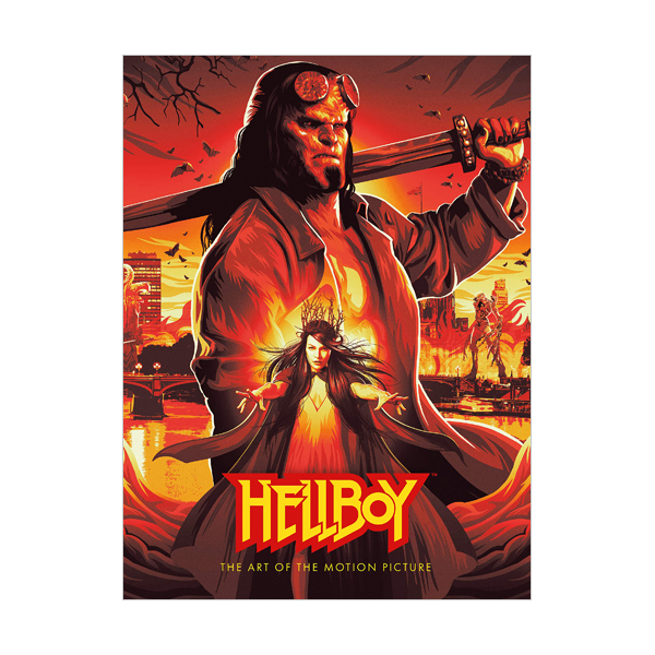 Hellboy : The Art of The Motion Picture (Hardcover )