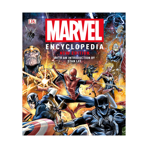 Marvel Encyclopedia : 2019 New Edition  (Hardcover)