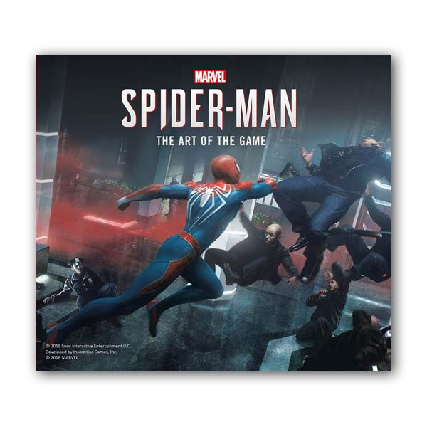 Marvel's Spider-Man: The Art of the Game (Hardcover, 영국판)