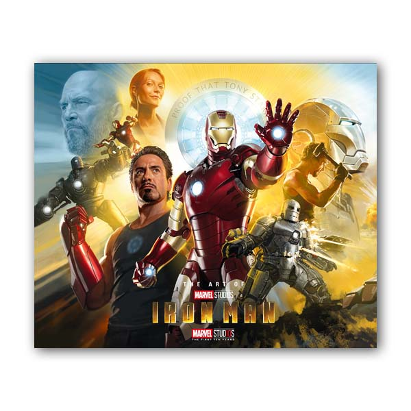 The Art of Iron Man : 10th anniversary edition (Hardcover, Anniversary Edition)