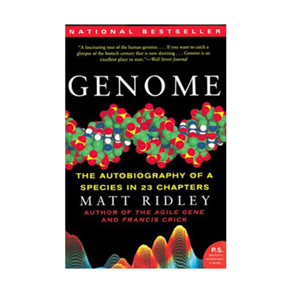 Genome: The Autobiography of a Species in 23 Chapters(Paperback)