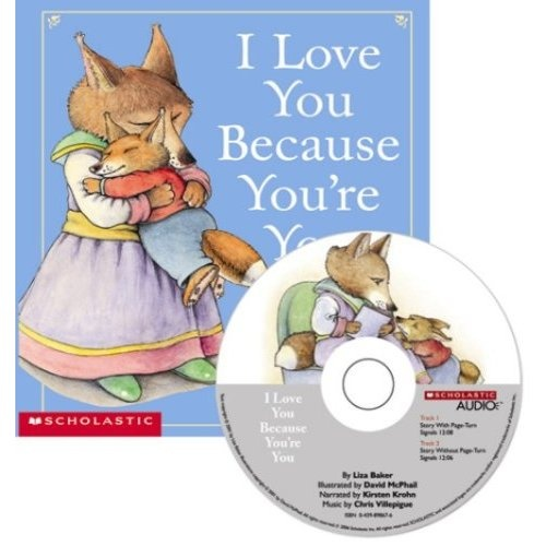 I Love You Because You're You (Book & CD)