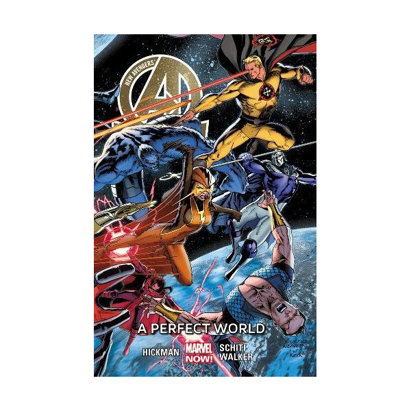 New Avengers Volume 4: A Perfect World (Paperback)