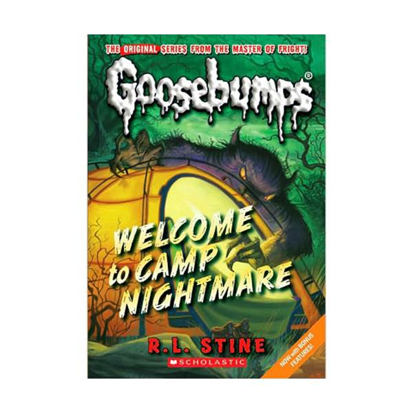 Classic Goosebumps #14 : Welcome to Camp Nightmare (Paperback)